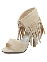 Women's Shoes Stiletto Heel PeepToe Fringe  Sandals More Colors available