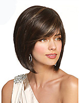 Top Quality Mixed Color Synthetic Middle Straight Synthetic Wigs