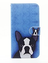 For SONY Xperia X XA Case Cover The Dog Pattern PU Leather Cases for Xperia M4 Aqua