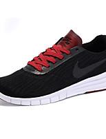 Zapatos Sneakers Tejido Negro / Rojo / Gris Hombre
