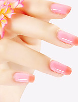 ekbas vermelho e rosa gradiente de cor das unhas cola 16ml unha polonês