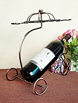 Hot Hot Wine Rack! Wine Holder Umbrella Wine Rack Retro Chariot Wine Rack