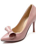 Chaussures Femme-Bureau & Travail / Habillé / Soirée & Evénement-Noir / Rose / Rouge-Talon Aiguille-Talons / Bout Fermé / Bout Pointu-