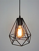 Retro Contracted Black Wrought Iron Birdcage Pendant Lights Restaurant,Cafe ,Game Room,Garage light Fixture