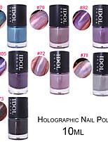arco-íris do laser unha polonês unhas holo 10ml polonês