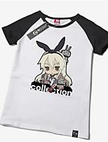 Costumi Cosplay-Shimakaze-Kantai Collection-T-shirt