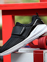 Men's Shoes Running/Casual/Outdoor Tulle Leather Fashion Sneakers Runing Shoes Black/White/Red 39-44