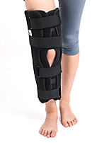 Black Neoprene Patella Elastic Knee Brace Fastener Knee Suppor