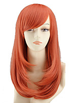 COS Color Cartoon Wig Long Pear Flower Has A Long Roll of Orange Wig Sell Like Hot Cakes