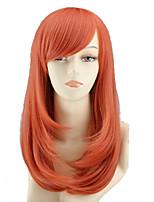 cos parrucca cartone animato colore del fiore lungo pera ha un lungo rotolo di arancia vendita parrucca come il pane