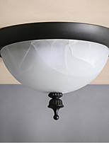 MAX 40W Montagem do Fluxo ,  Tradicional/Clássico Pintura Característica for Estilo Mini MetalSala de Estar / Quarto / Sala de Jantar /