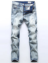Men Ripped Jeans High Quality Famous Brand Design Jeans Men Plus Size Hip Hop Jeans Pants
