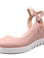 Women's Shoes Wedges Heel /Platform/Sling back Sandals/Heels Office & Career/Dress Blue/Pink/White
