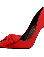 Women's Shoes PU Stiletto Heel Heels Heels Casual Black / Pink / Red / Gray / Coral