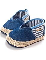 Chaussures bébé-Bleu-Habillé / Décontracté-PU-Plates