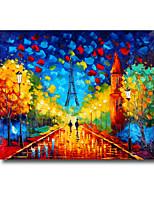 50 * 60cm de hand geschilderde olieverf landschap