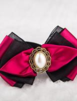 Gatos / Perros Collar Ajustable/Retractable / Lazo / Lindo y mimoso Rojo / Verde / Marrón / Morado Textil