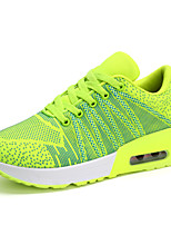 Women's Shoes Fabric Round Toe Fashion Sneakers Outdoor / Athletic / Casual Blue / Green / Pink / Orange