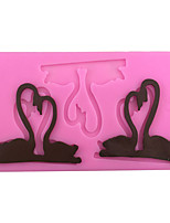 Swan liquid Style Sugar Candy Fondant Cake Molds  For The Kitchen Baking Molds