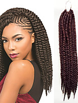 Most Popular Cheap Price 1-12Packs Long Hair Braids Color 33# Havana Twist Braid Hair Crochet Braid Twist Hairstyles.