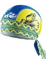 Bandanas / Sombreros(Amarillo / Azul) -Transpirable / Aislado / Resistente a los UV / Permeabilidad a la humeda / Secado rápido / A