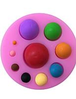 Ball Shaped Silicone Fondant Cake Cake Chocolate Silicone Molds,Decoration Tools Bakeware