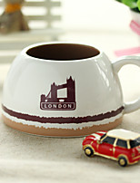 1PC 5.6*9.1*5.8cm European Creative Ceramic Coffee Cup
