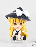 TouHou Project Kirisame Marisa PVC 11cm Anime Action Figures Model Toys Doll Toy 1 Pc