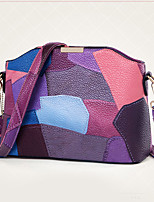 Women PU Shell Shoulder Bag / Satchel-Purple / Blue / Orange / Red / Gray