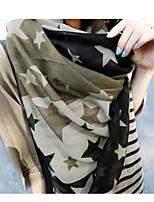 Fashion Pentagram Bandanna Printing Scarf Shawl
