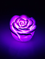 Creative Color-Changing Acrylic Rose LED Night Light Colorful Light Rose Lovers Gifts Home Decoration