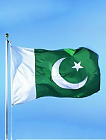 Pakistan Flag Banner Free Shipping Hanging National Flag Pakistan Home Decoration Flag (Without flagpole)