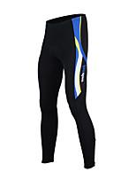TASDAN Cycling Clothing Men's Cycling Tights/Pants With Gel Pad Chamois