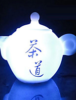Creative Color-Changing The Teapot of Seven Color LED Nightlight