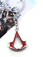 Assassin's Creed  Black / Red / Blue Alloy More Accessories Key Buckle