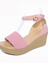 Women's Shoes Flannelette Platform Peep Toe / Platform / Creepers Sandals Office & Career / Dress / Casual