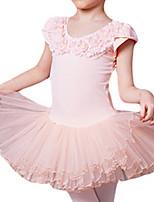 Girl's Pink Dress Cotton Summer