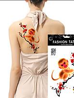 5Pcs Arm Tattoo Large Size Waterproof Temporary Tattoos 12 Chinese Zodiac  Choose Body Art Paste Stickers