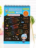 Scratch Paper DIY Drawing Note(1 PCS L)