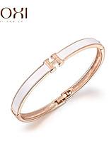 18k goud kristal h brief armband armband sieraden voor dame