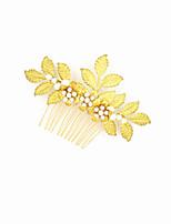 מסרקי שיער כיסוי ראש נשים / נערת פרחים חתונה / אירוע מיוחד סגסוגת חתונה / אירוע מיוחד חלק 1