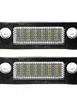 2pcs f-ord m-k5 / Mondeo LED-Kennzeichenleuchte 14w 3528smd führte mit speziellen führte decorder