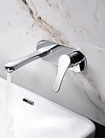 Wall Mounted Single Handle Bathroom Sink Faucet Basin Mixer