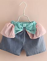 Baby Kids Girls Satin Ruffle Shorts Children Bowknot Lace Girls Bloomers Girls Ruffle Shorts
