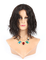 10'' Natural wave Brazilian virgin hair full lace short bob human hair lace front human hair wigs for black women