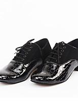 Men's Dance Shoes Latin / Modern Dancing Shoes Sandals / Chunky Heel Practice / Beginner / Professional