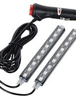 exled 10w 12v led voiture lampe de décoration intérieure 1-2 lumière bleue