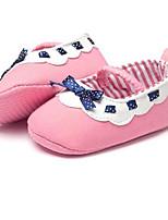 Chaussures bébé-Rose-Habillé / Décontracté-PU-Plates