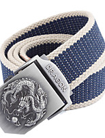 Men Canvas Buckle,Vintage / Casual Alloy
