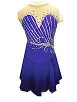 Skating Dresses Women's Purple S / M / L / XL / 6 / 8 / 10 / 12 / 14 / 16 Others